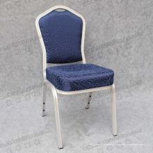 Mobília de mobília de banquete de tecido azul (YC-B70-04)