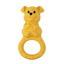 Brinquedos do bebê, brinquedos de borracha do cão animal
