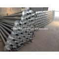 Round Shaft Helical Piers for Building Deep Foundations