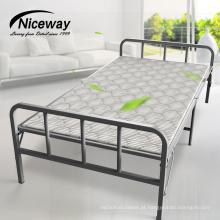 Preço de atacado barato portátil de aço Metal Extra Single Sun espreguiçadeira de madeira dobrável cama