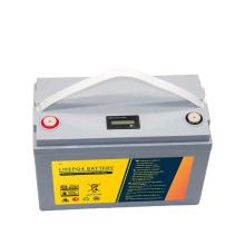 class A 12.8V 100ah lithium ion battery best solar batteries 12V 100Ah 120Ah Lifepo4 battery pack
