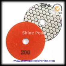 Angle Grinder Dry Diamond Polishing Pad