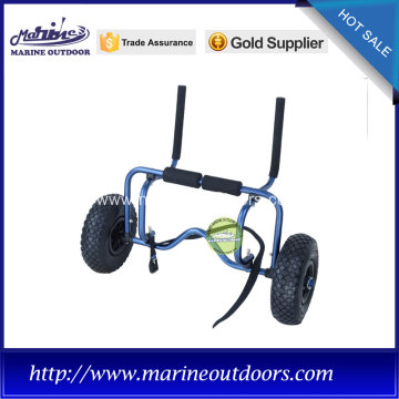 Aluminum canoe carrier, Trolley tow wheels, Anodized sitting trolley