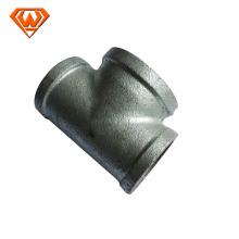 Raccords galvanisés de tuyau de fer malléable