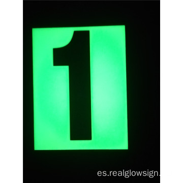 Realglow Photoluminescent Flat Number 1