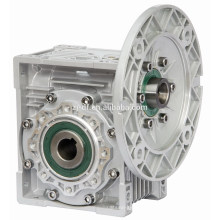 NMRV worm gear speed reducer with electric motor