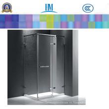 El fabricante del vidrio proporciona el vidrio de la ducha, vidrio claro de la hoja