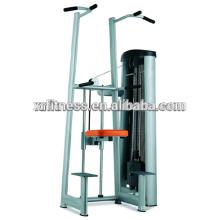 2016 New arrival ginásio equipamentos de fitness Chin & Dip Assist máquina