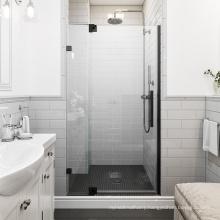 Seawin Lifetime Warranty aluminum Accessories 10 mm Glass Frameless Shower Pivot Doors