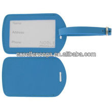 Cheap leather luggage tag