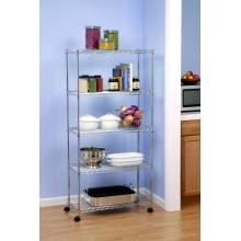 Rack de armazenamento multiuso de cozinha de metal (cj7535160b5cw)