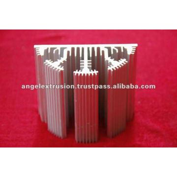 Aluminiumprofil für LED-Lichtkühlkörper