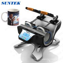 Mini Double-Station Mug Heat Press Machine with CE Certificate (ST-210)