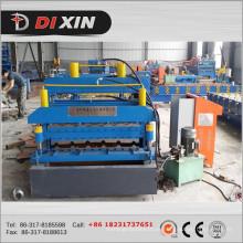 Máquina de formação de rolo de perfil de folha de telhado de metal