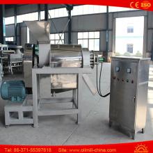 Máquina de extração de leite de coco de aço duplo de aço inoxidável