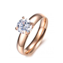 Top selling color change ring,circle ring,trendy high polish ring