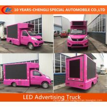 Foton Mini LED Advertising Truck LED Screen Truck for Sale