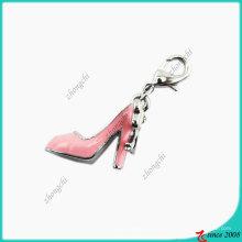 Pink Lady High Heel Chaussures Charm Dangle avec fermoir (SPE)