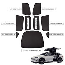 Car Sun Shades UV Rays Protection Compatible with Model X Sunroof and Window Shades