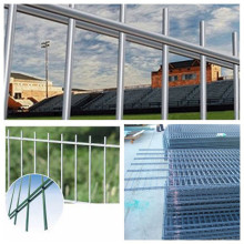 Pagar Kawat Double 3D Welded Steel Mesh Fence
