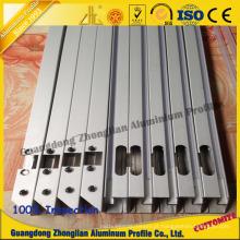 CNC de alumínio anodizado personalizado da extrusão do tubo da fábrica