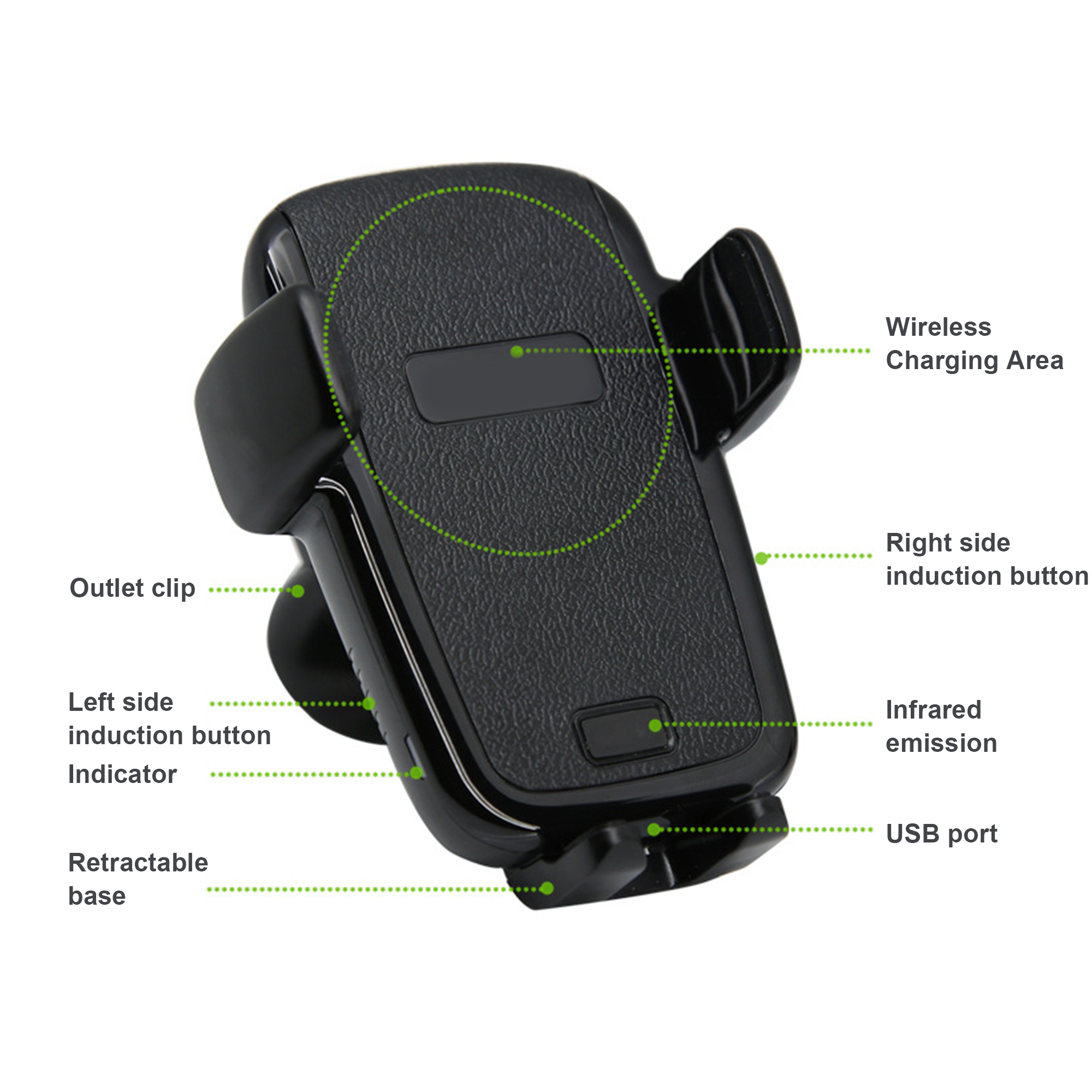 Iphone car battery charger