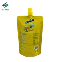 orange juice packaging bag