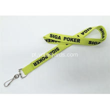 25MM Custom Logo Polyester Silk Screen Lanyards