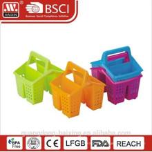 Heißer Verkauf und gute Qualität Kunststoff Besteckhalter mit Griff