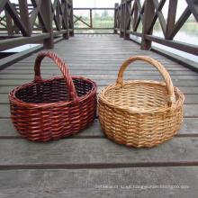 (BC-WB1012) Canasta natural hecha a mano de la alta calidad del sauce / cesta del regalo