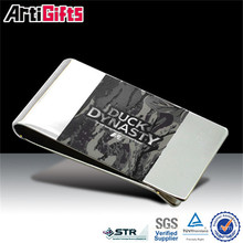 New fashion products plain stainless steel money clip