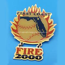 Custom Logo Metal Pin Badges No Minimum Order