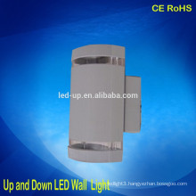 surface mounted decorative outdoor led wall light up and down led light ip65