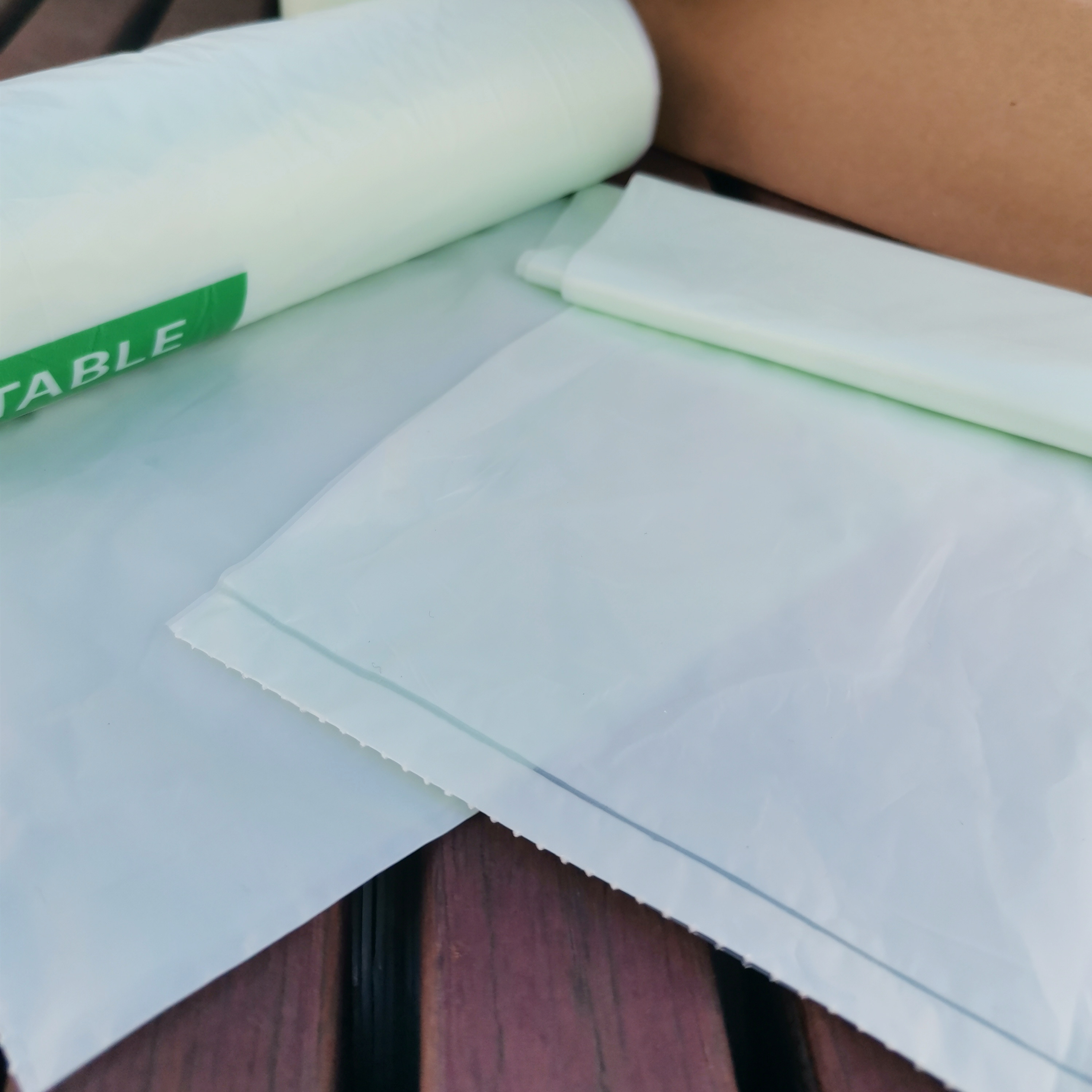 EN13432/BPI Certified Compostable Waste Bags