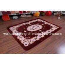 100%Acrylic Raschel Mink Prayer Carpet (NMQ-CPT012)