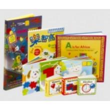 Impressão de livros personalizados para crianças, escola, escola primária