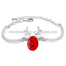 Fashion New Design Alloy Christmas Bracelets with crystal deer