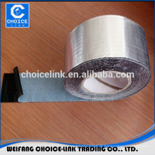 Material impermeável auto adesiva folha de alumínio fita de borracha