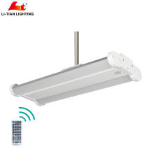 140w linear led High Bay 1200mm with Dimmable,Emergency and wireless editing 130Lm/W