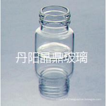 15ml flacon de verre clair Mini tubulaire pour l'emballage de la pilule