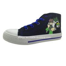 Cool Cartoon High Ankle Children Sneaker (X169-S&B)