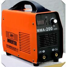 Máquina de soldadura de DC Inverter máquina de soldadura portátil