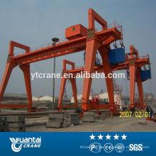 100 toneladas grúa de pórtico doble viga