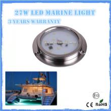 Hot selling 6w IP68 RGB led marine light for yacht, marine ,boat, pool light