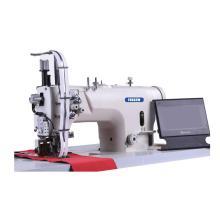 Máquina de costura de fixação de zíper para serviço pesado