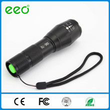 Light guard waterproof aluminium flashlight rechargeable led torch