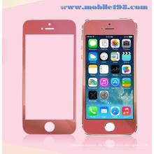 Protector de pantalla de vidrio templado rojo para teléfono móvil iPhone