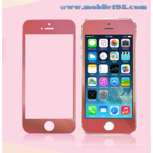 Red Tempered Glass Screen Protector for iPhone Mobile Phone