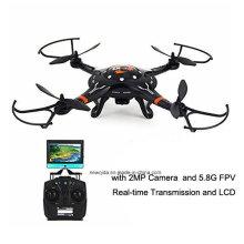 2,4G RTF Radio Control Flugzeug Hubschrauber Drohne mit 2MP Kamera 5,8g Fpv Übertragung
