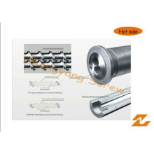 Tornillo y barril bimetálicos Zyt420 para la vida laboral larga de la máquina plástica